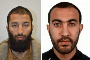 Britisk Politi frigiver navne og fotos på gerningsmændene til lørdagens angreb